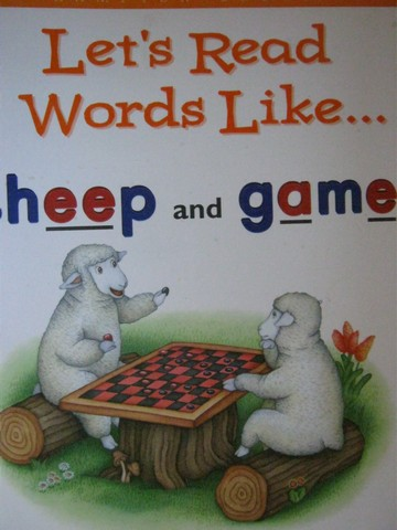 Phonics & Friends Level E Let's Read Words Like Sheep (P)(Big)