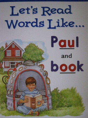 Let's Read Words Like Paul & Book (P)(Big) by Kratky & Costigan