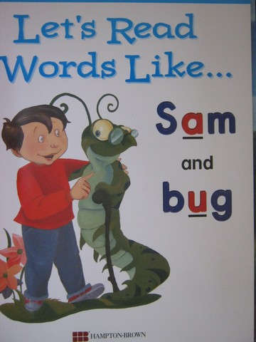 Let's Read Words Like Sam & Bug (P)(Big) by Lada Kratky - Click Image to Close