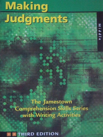 Making Judgments 3rd Edition for Middle School (P)