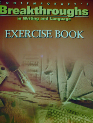 Breakthroughs in Writing & Language Exercise Book (P)