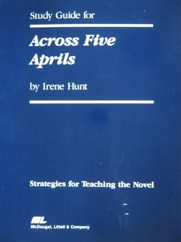 an analysis of the topic of across five aprils Across five aprils study  the following discussion questions will enhance your classroom discussion and are separated by topic  across five aprils vocabulary go to teaching across five .