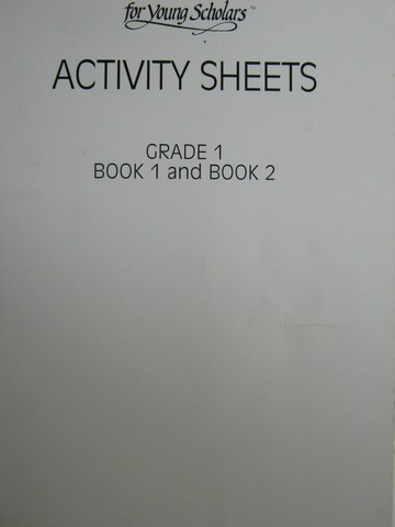 Collections for Young Scholars 1 Activity Sheets Book 1 & 2 (P)