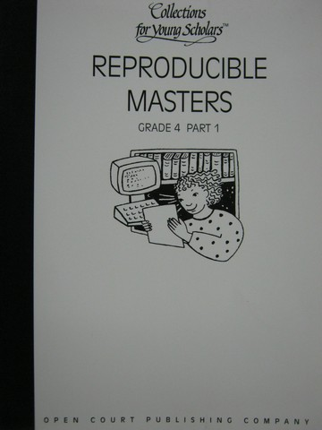Collections for Young Scholars 4 Reproducible Masters Part 1(P)