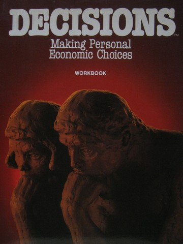 Decisions Making Personal Economic Choice Workbook (P)