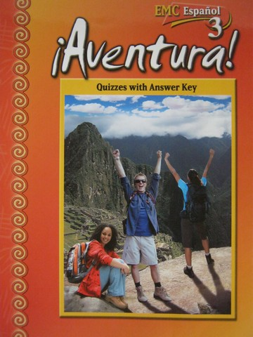 Aventura! 3 2nd Edition Quizzes with Answer Key (P) by Vargas,