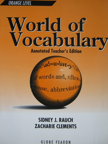 World of Vocabulary Orange Level 3rd Edition ATE (TE)(P)