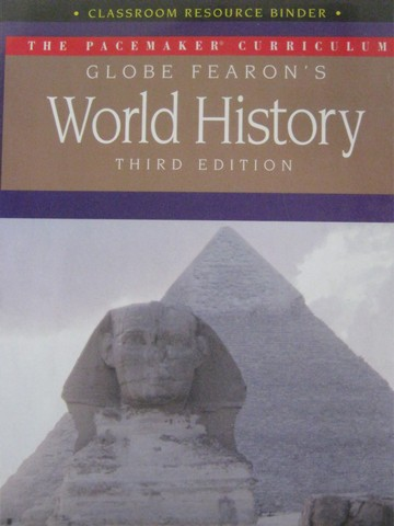 World History 3rd Edition Classroom Resource (Binder)