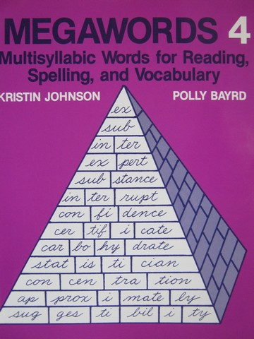 Megawords 4 (P) by Kristin Johnson & Polly Bayrd