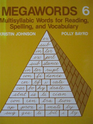 Megawords 6 (P) by Kristin Johnson & Polly Bayrd