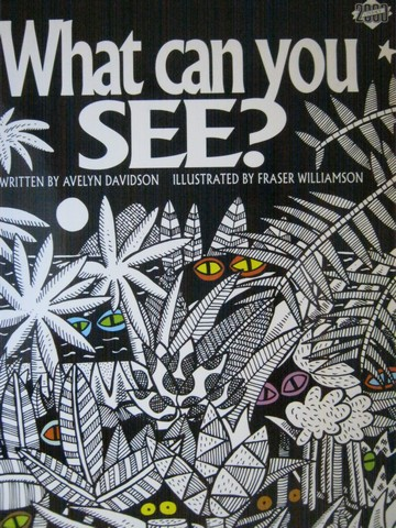 Literacy 2000 What Can You See? (P)(Big) by Avelyn Davidson