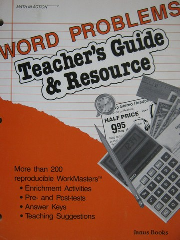Math in Action Word Problems Teacher's Guide & Resource (P)