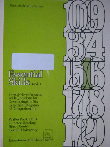 Essential Skills Series Essential Skills Book 1 (P) by Pauk