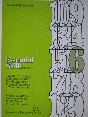 Essential Skills Series Essential Skills Book 6 (P) by Pauk