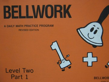 Bellwork Math 2 Part 1 Revised Edition (P) by DePue & Kinney