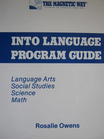 Magnetic Way Into Language Program Guide (Spiral) by Ownes
