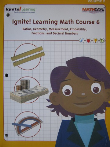 Ignite! Learning Math Course 6 Volume 2 (P) by Anderson, Brenner