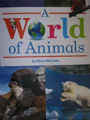 A World of Animals (P)(Big) by Mary McCann