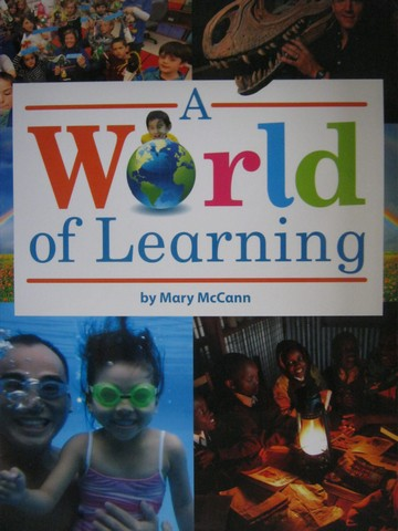 A World of Learning (P)(Big) by Mary McCann
