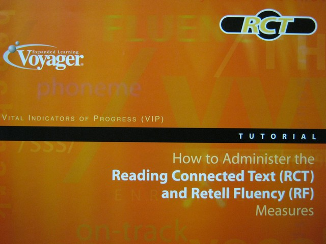 How to Administer the Reading Connected Text & Retell Fluency (P