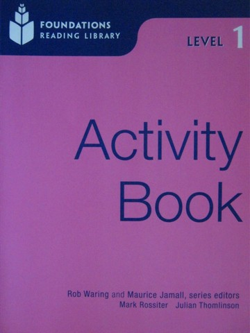 Foundations Reading Library 1 Activity Book (P) by Waring,
