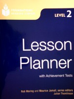 Foundations Reading Library 2 Lesson Planner (P) by Waring,