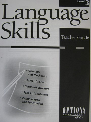 Language Skills Level 3 TG (TE)(P) by Patty Moynahan