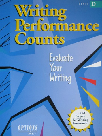 Writing Performance Counts Level D (P)