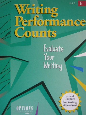 Writing Performance Counts Level E (P)