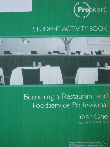 Prostart Becoming a Restaurant & Foodservice Year 1 2e WB (P)