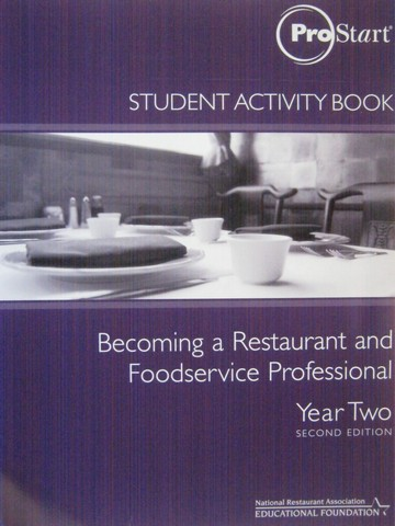 Prostart Becoming a Restaurant & Foodservice Year 2 2e WB (P)