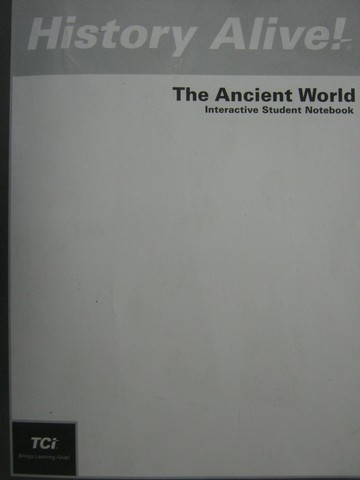 History Alive! The Ancient World Interactive Notebook (P)