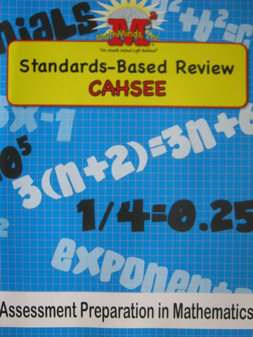 CAHSEE Standards-Based Review (P)