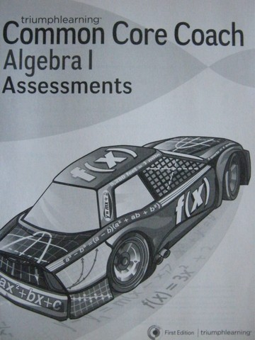 Common Core Coach Algebra 1 Assessments (P)