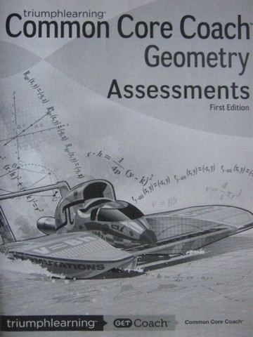 Common Core Coach Geometry Assessments (P)