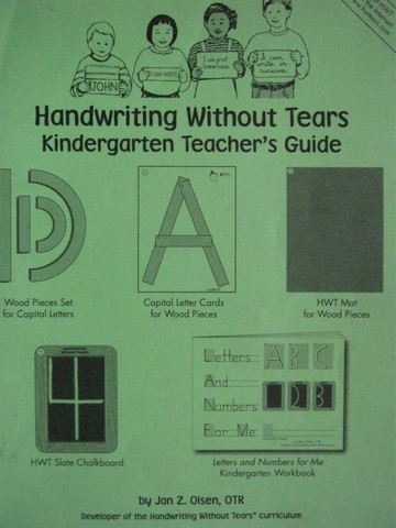 Handwriting Without Tears K TG 9th Edition (TE)(P)
