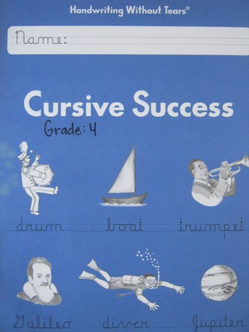 Handwriting Without Tears 4 Cursive Success 6th Edition (P)