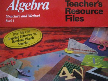Algebra: Structure and Method Book 1