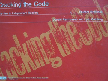 Cracking the Code The Key to Independent Reading Student (P)