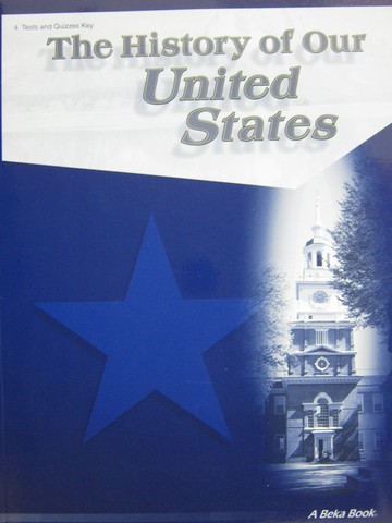 History of Our United States Grade 4 3rd Edition Tests TE (P)