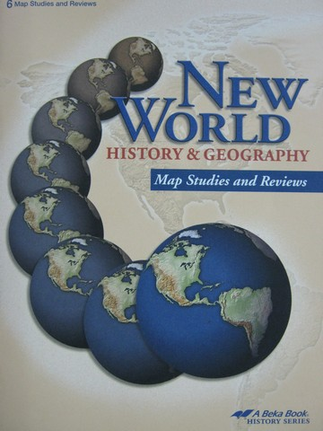 New World History & Geography Grade 6 Map Studies & Reviews (P)