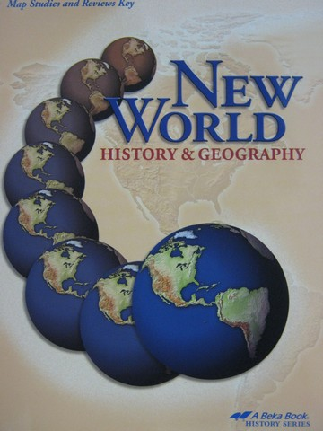 New World History & Geography Grade 6 Map Studies TE (TE)(P)