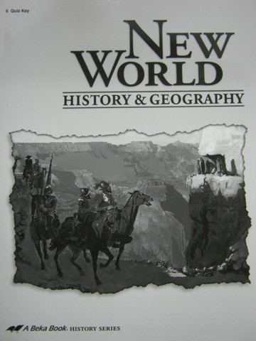 New World History & Geography Grade 6 Quiz Key TE (TE)(P)
