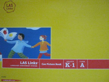 LAS Links K-1 Form A Cue Picture Book (Spiral)