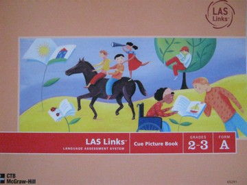 LAS Links 2-3 Form A Cue Picture Book (Spiral)