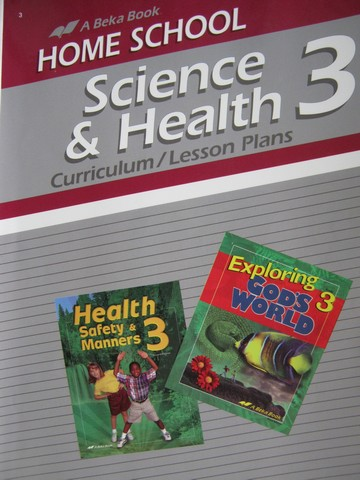 Home School Science & Health 3 Curriculum Lesson Plans (P)