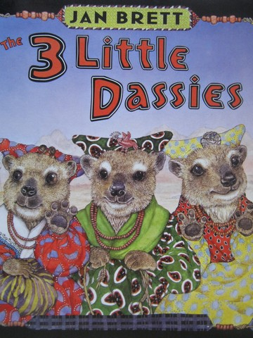 3 Little Dassies (P)(Big) by Jan Brett