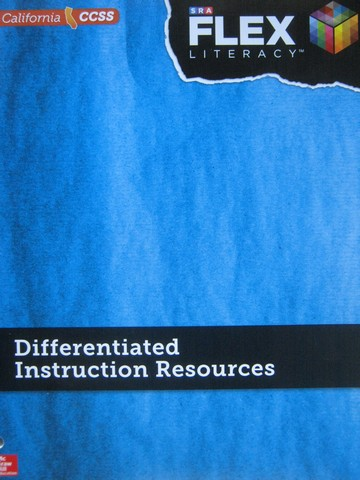 SRA Flex Literacy Elementary System Differentiated (CA)(TE)(P)