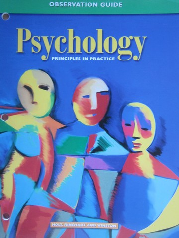 Psychology Principles in Practice Observation Guide (P)
