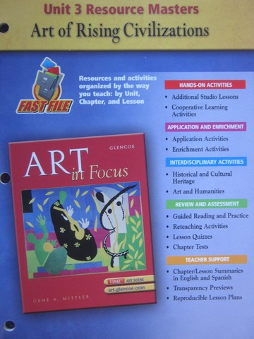 Art in Focus Unit 3 Resource Masters (P)